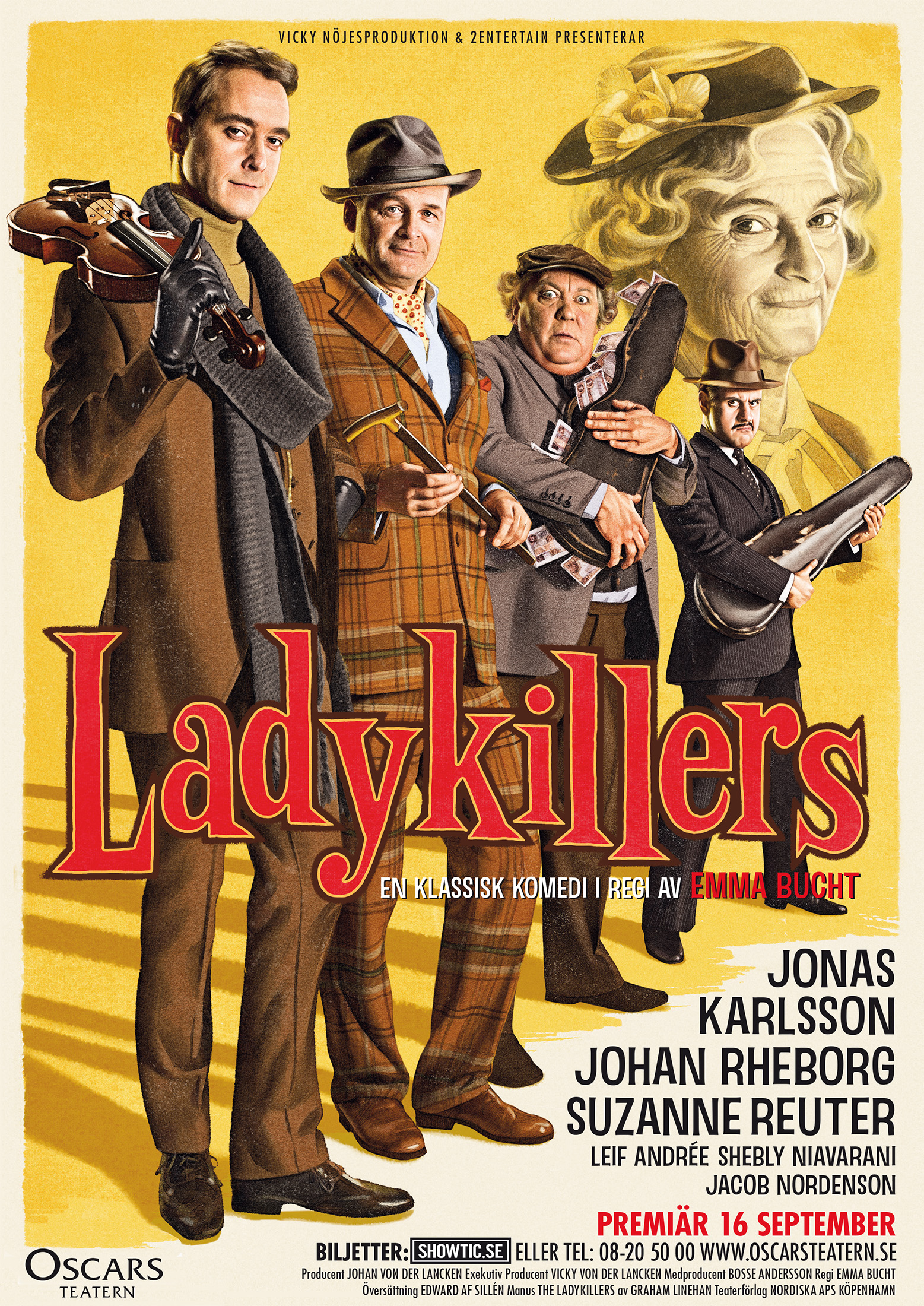 Ladykillers theatrical poster
