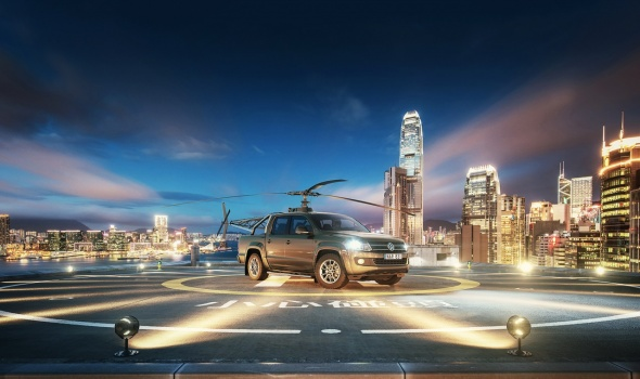 Volkwagen Amarok hong kong edition for april fool campaign