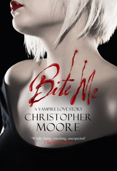 Bite me book cover for Christopher Moore