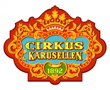 Logo for the ride Circuskarusellen