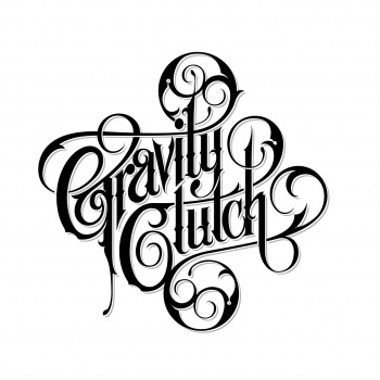 Logotype for Gravity Clutch ornate letters