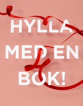 satin ribbon around the letters to the academy bookstore before Mother's Day Akademibokhandeln morsdag sidenband