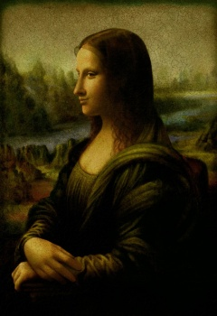 Mona Lisa in a new perspective