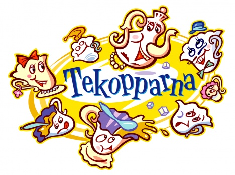 Logo for the ride Tekopparna