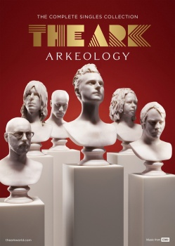 3D scanned Album cover for Pop group The ark stone marble statues in marmor statyer Ola Salo laser skinning stayer marmor